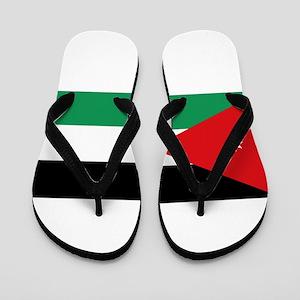 Flag of Jordan Flip Flops