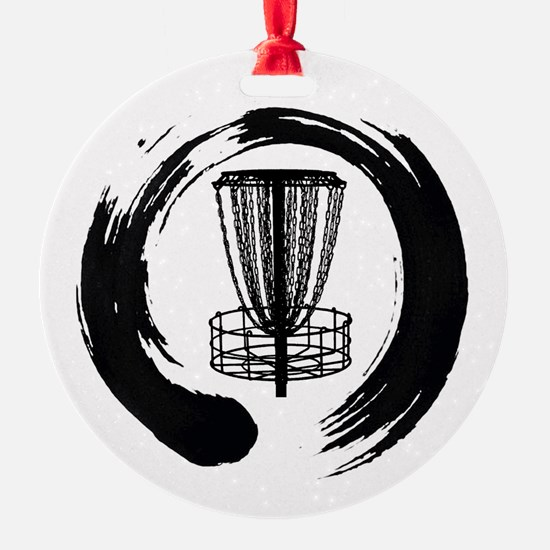 Zen Disc Golf Logo Ornament