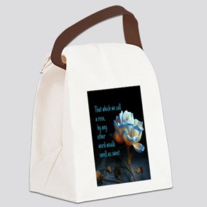 Rose of another name Canvas Lunch Bag