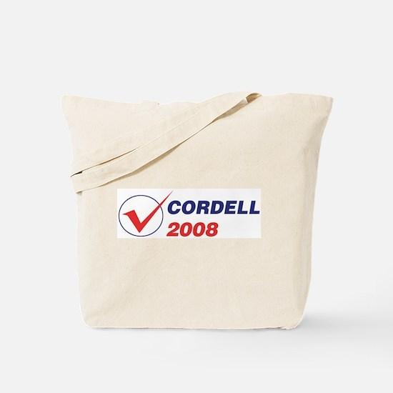 CORDELL 2008 (checkbox) Tote Bag
