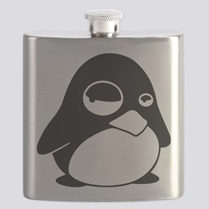 Unimpressed Penguin Flask
