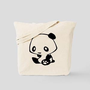Kawaii Panda Tote Bag