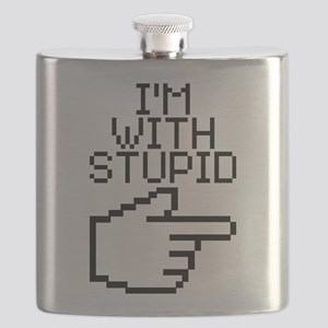 I'm with stupid Flask