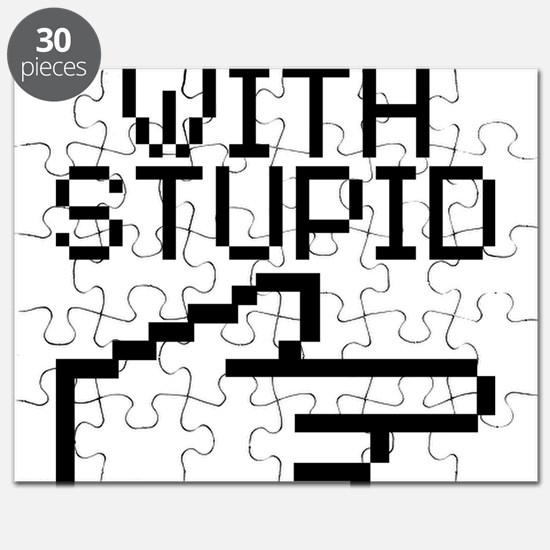Im With Stupid Puzzle