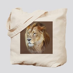 Painting Lion Tote Bag