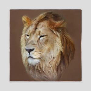 Painting Lion Queen Duvet