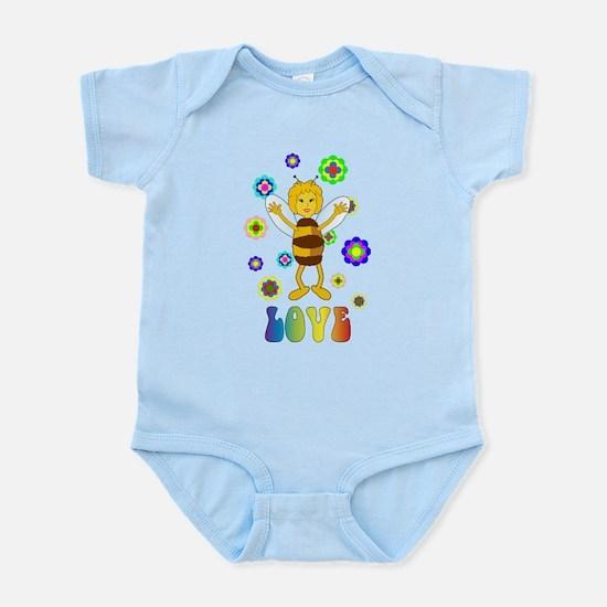 Love Bee Body Suit