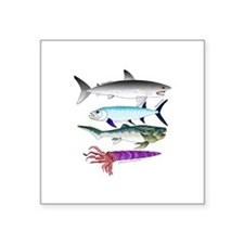 4 Extinct Sea Monsters Sticker