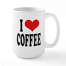 I Love Coffee Large Mug