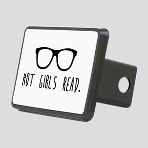 Hot Girls Read Rectangular Hitch Cover