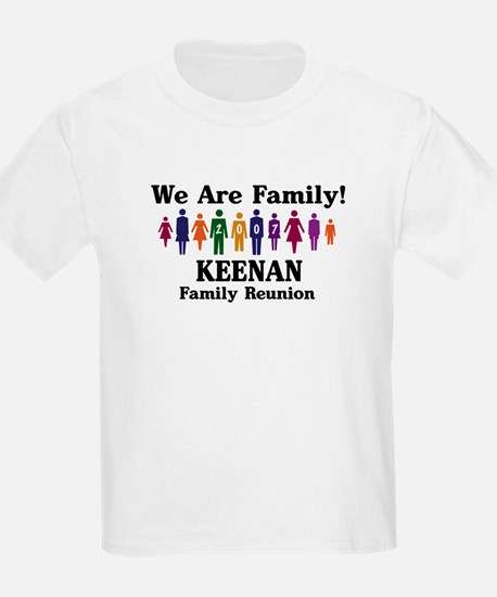 KEENAN reunion (we are family T-Shirt