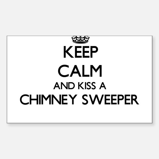 Keep calm and kiss a Chimney Sweeper Decal