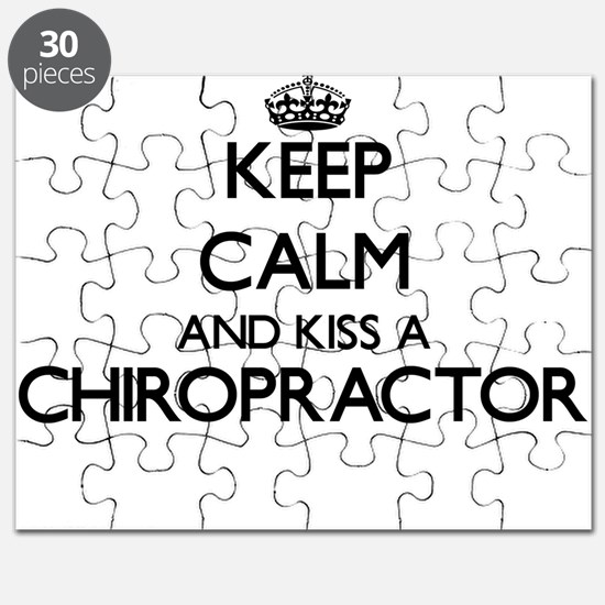 Keep calm and kiss a Chiropractor Puzzle