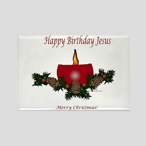 Happy Birthday Jesus Magnets