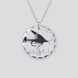 Tie It, Fly It! Necklace Circle Charm