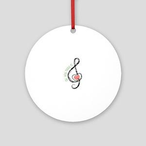 Need Music Ornament (Round)