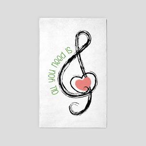 Need Music Area Rug