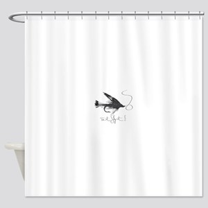 Tie It, Fly It! Shower Curtain