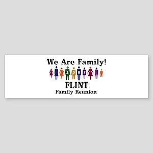 FLINT reunion (we are family) Bumper Sticker
