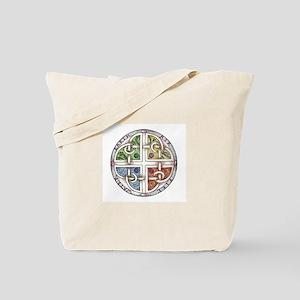Elemental Knot Tote Bag