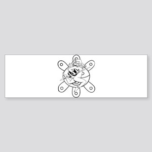 Taino queen Bumper Sticker