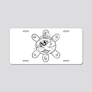 Taino queen Aluminum License Plate