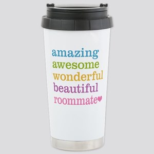 Awesome Roommate Stainless Steel Travel Mug