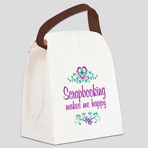 Scrapbooking Happy Canvas Lunch Bag