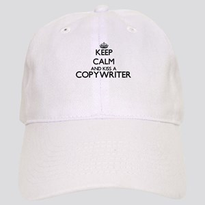 Keep calm and kiss a Copywriter Cap