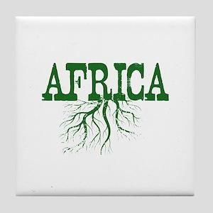 Afghanistan Roots Tile Coaster