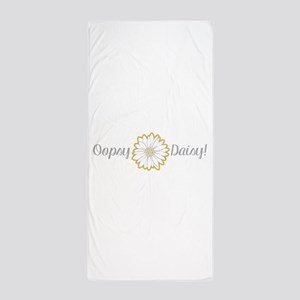 Oopsy Daisy Beach Towel