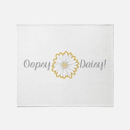 Oopsy Daisy Throw Blanket