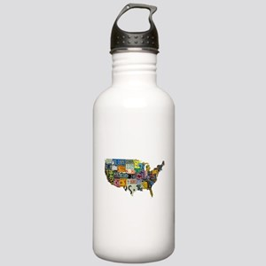 america license Stainless Water Bottle 1.0L