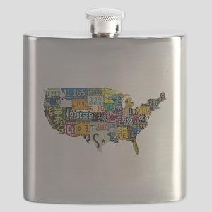 america license Flask