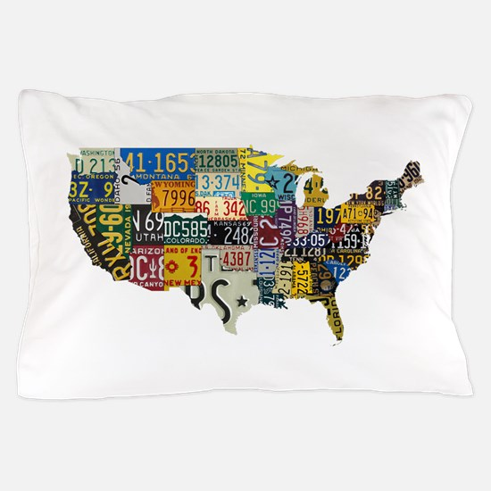 america license Pillow Case