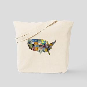 america license Tote Bag