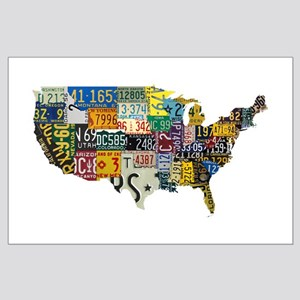 america license Large Poster