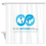 World Beyond War Shower Curtain