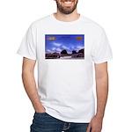 Tulane Courts White T-Shirt