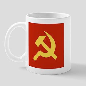 Red Hammer & Sickle Mug