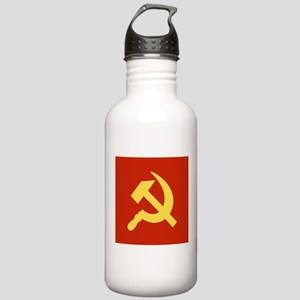 Red Hammer & Sickle Stainless Water Bottle 1.0L
