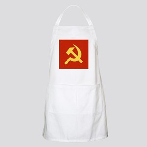 Red Hammer & Sickle Apron