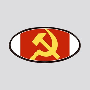 Red Hammer & Sickle Patches