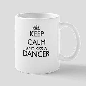 Keep calm and kiss a Dancer Mugs