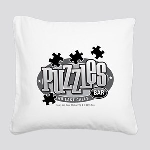 himym Square Canvas Pillow