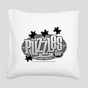 himym Square Canvas Pillow