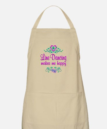 Line Dancing Happy Apron