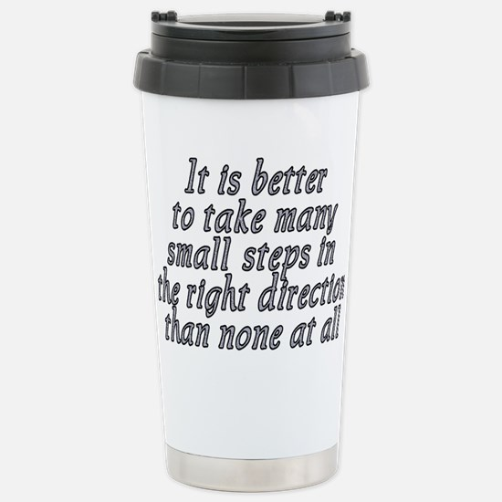Right direction - Stainless Steel Travel Mug