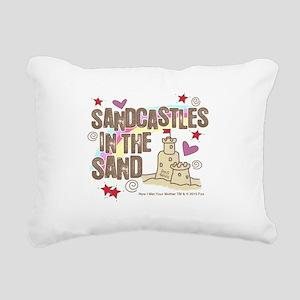 HIMYM Sandcastles Rectangular Canvas Pillow