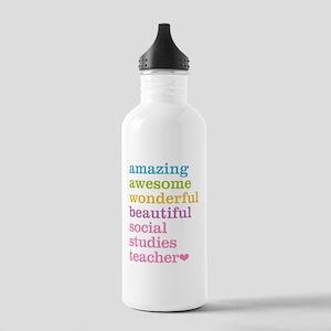 Social Studies Teacher Stainless Water Bottle 1.0L